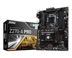 Z270-A PRO ATX Board that are optimized for crypto currency mining.