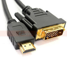 10ft HDMI (male) in  to DVI-D (male) Output Single Link Digital Video Cable.