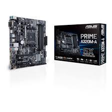 Prime A320M-A AMD Ryzen AM4  mATX Motherboard