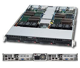 SuperServer 6016TT-IBQF 1U TWIN with QDR Infiniband