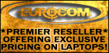 EUROCOM - Premier Reseller offering exclusive pricing on laptops