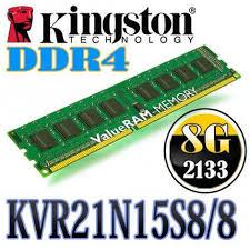 ValueRAM 8GB 288-Pin DDR4 SDRAM DDR4 2133 (PC4 17000) Desktop Memory Model KVR21N15S8/8